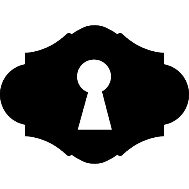 Key hole shape Free Icon - PNG Key Shape