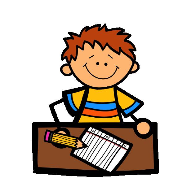 PNG Kid Writing - 43044