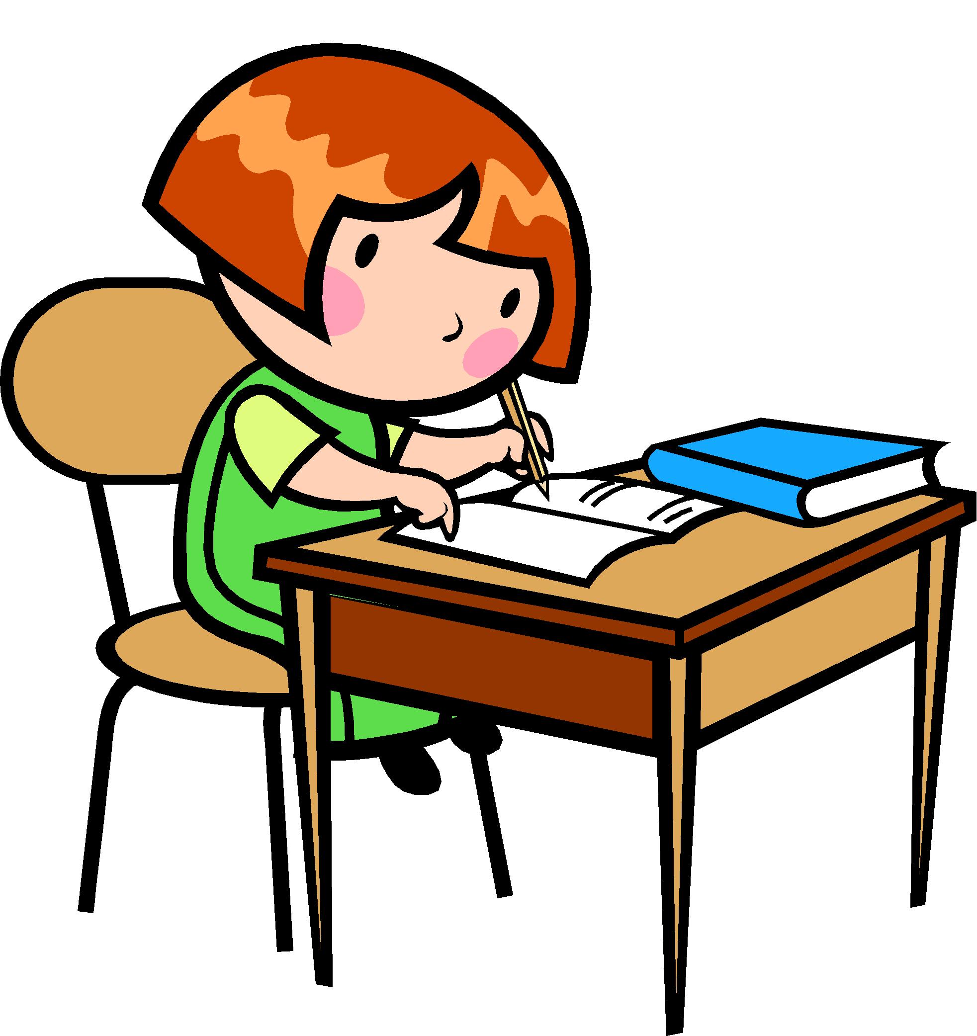PNG Kid Writing - 43048