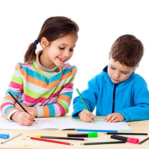 PNG Kid Writing - 43056