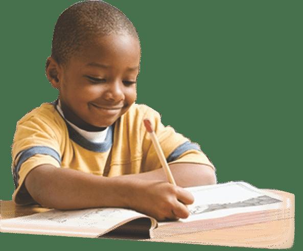 PNG Kid Writing - 43049