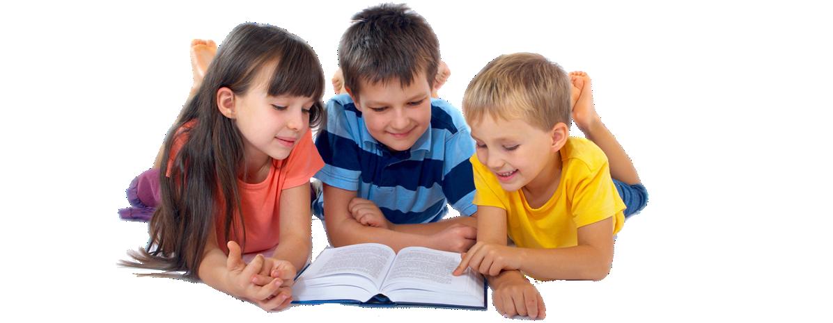 Kids PNG - PNG Kids Reading