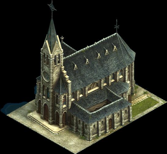 kleine Kirche Vektor Clipart