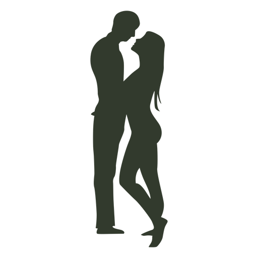PNG Kissing Couple - 44557