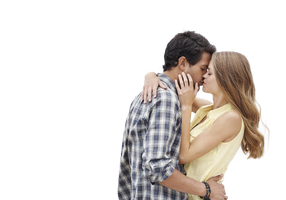 PNG Kissing Couple - 44544