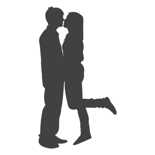 PNG Kissing Couple - 44552
