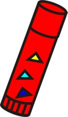 Klebestift - Klebestift, Kleber, Uhu, Kleben, Anlaut K - PNG Klebestift