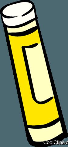 Klebestift Vektor Clipart Bild - PNG Klebestift