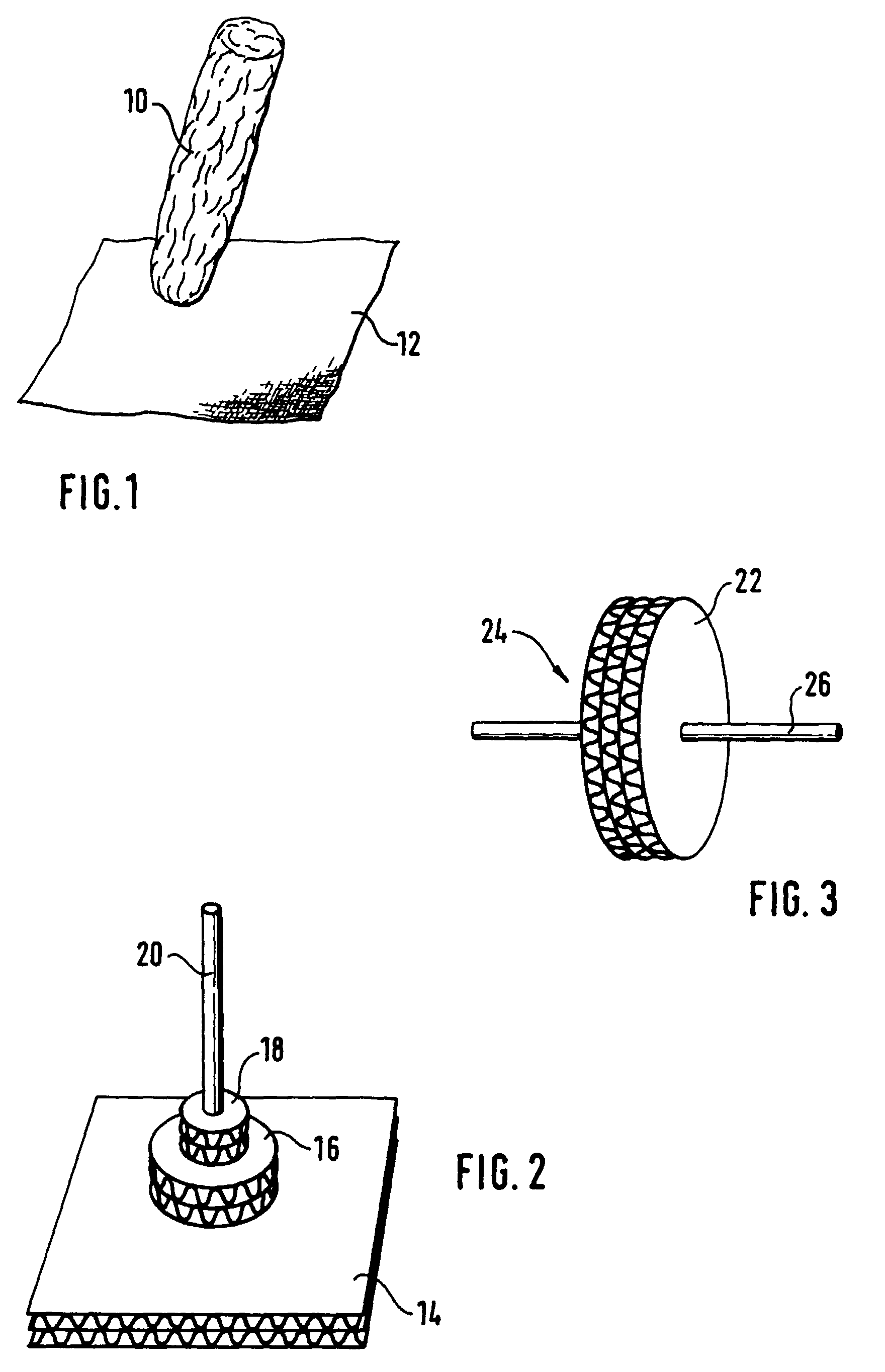 Patent Drawing - PNG Klebestift