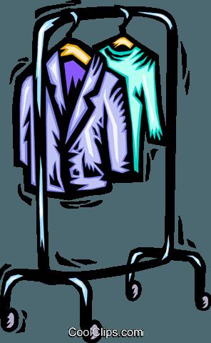 Kleiderständer Vektor Clipart Bild - PNG Kleiderstander