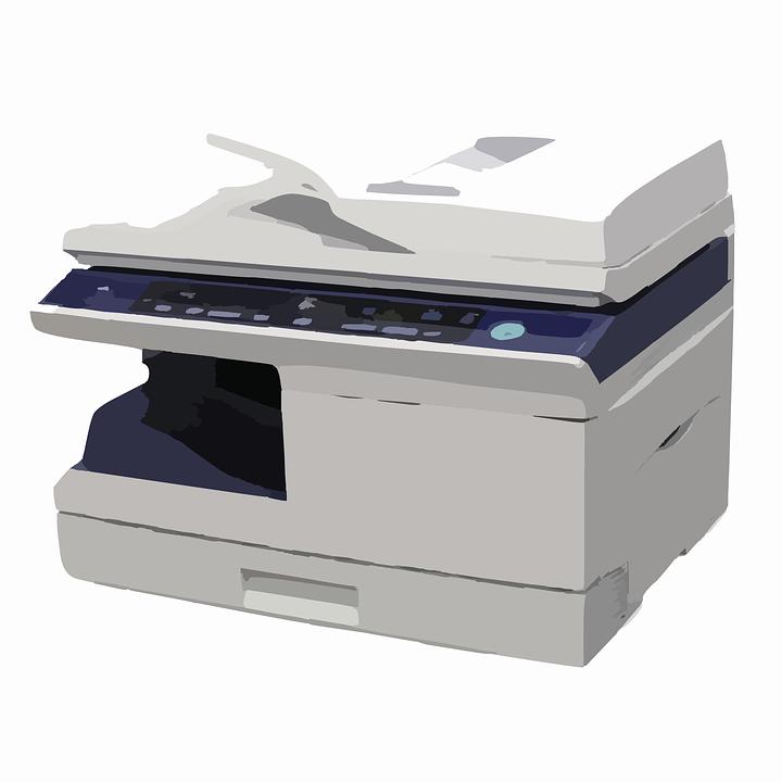 Kopierer, Drucker, Multifunktions, Fax, Gerät, Büro - PNG Kopierer