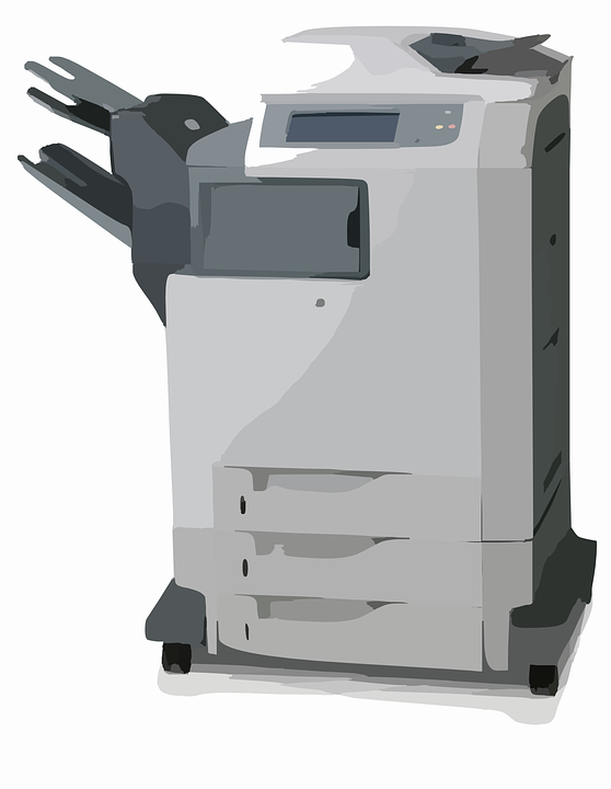 Kopierer, Scanner, Drucker, Büro, Gerät, Multifunktions - PNG Kopierer