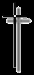 Kreuz, Trauer um Flugar - PNG Kreuz Trauer