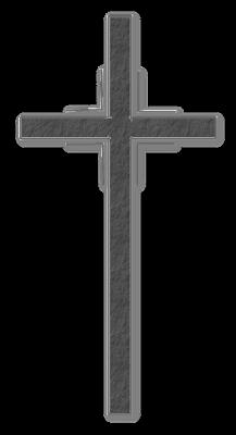 Trauer - PNG Kreuz Trauer