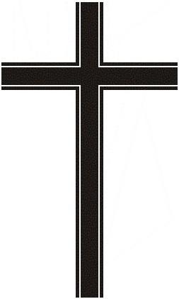 trauer kreuz - PNG Kreuz Trauer