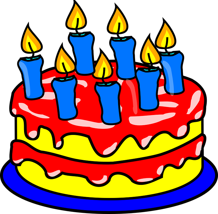 Birthday Cake With Image Online