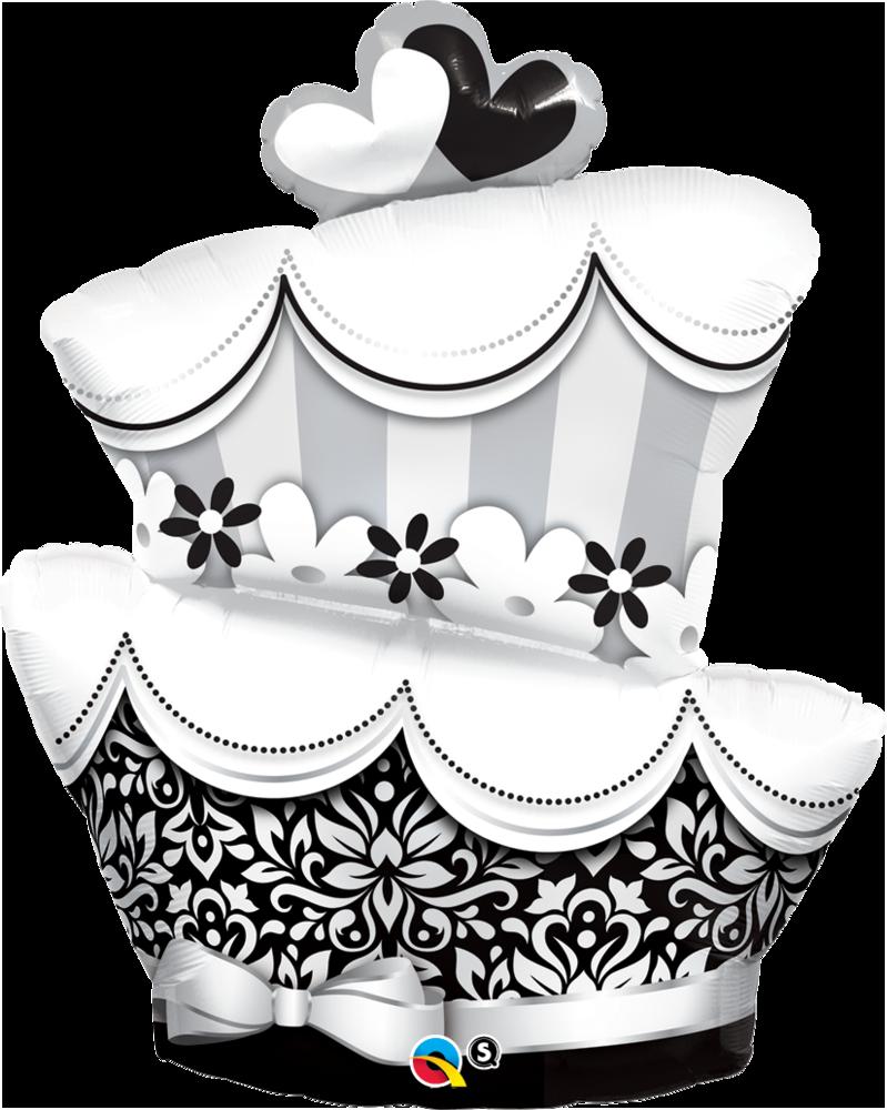 PNG Kuchen Schwarz Weiss - 88115