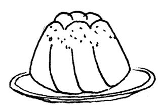 PNG Kuchen Schwarz Weiss - 88117