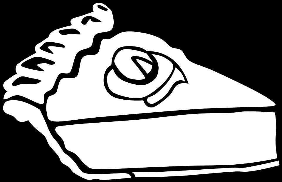 PNG Kuchen Schwarz Weiss - 88119