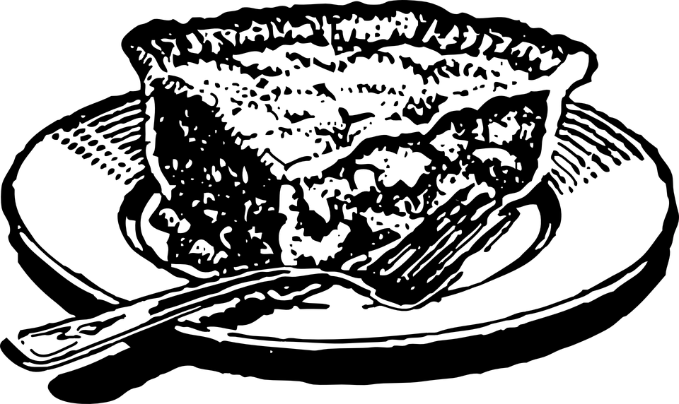 PNG Kuchen Schwarz Weiss - 88122