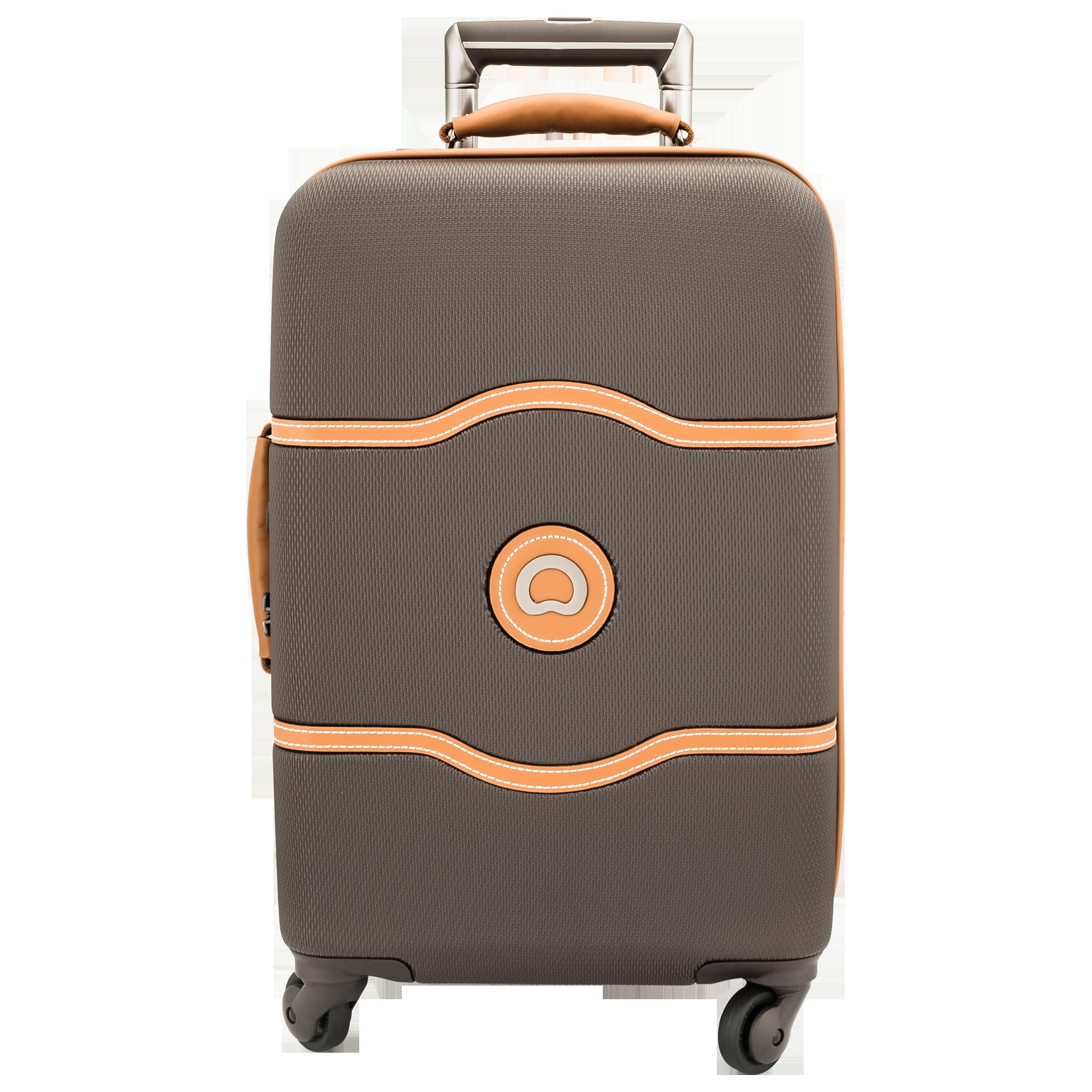 Delsey brun kuffert - PNG Kuffert