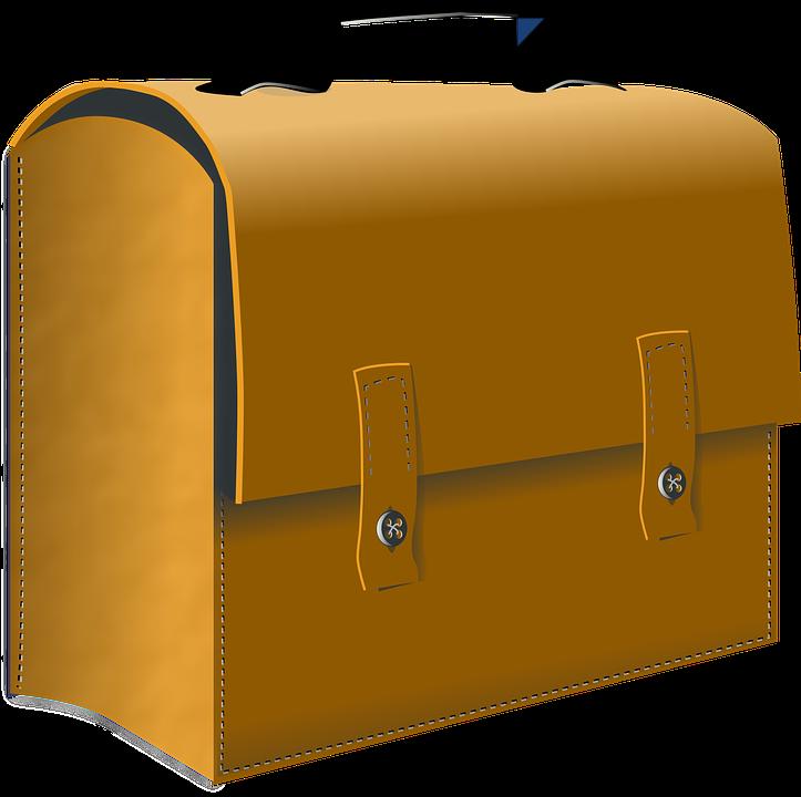 Kuffert, Læder, Tilfælde, Bagagerum, Pose - PNG Kuffert