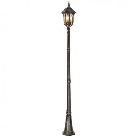 Baton Rouge Lamp Post - Elstead Lighting - PNG Lamp Post