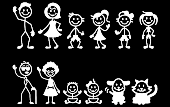 923-super-stick-family-big16.png - PNG Large Family