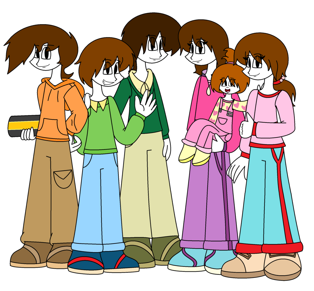 :D by lovesdrawing721 The Large Family Humanized! :D by lovesdrawing721 - PNG Large Family