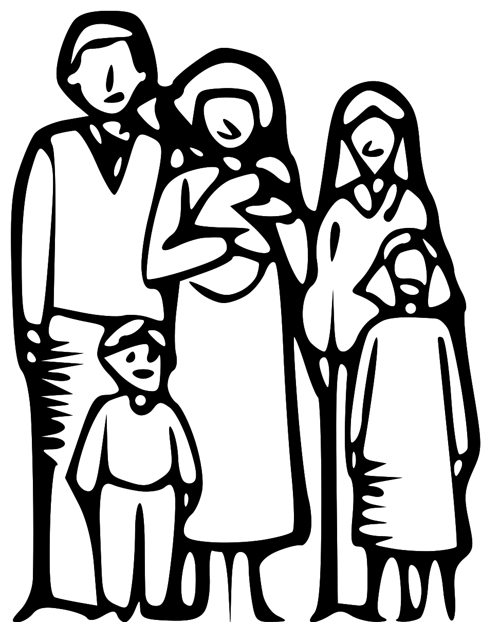 Large Family Clipart 24 - PNG Large Family