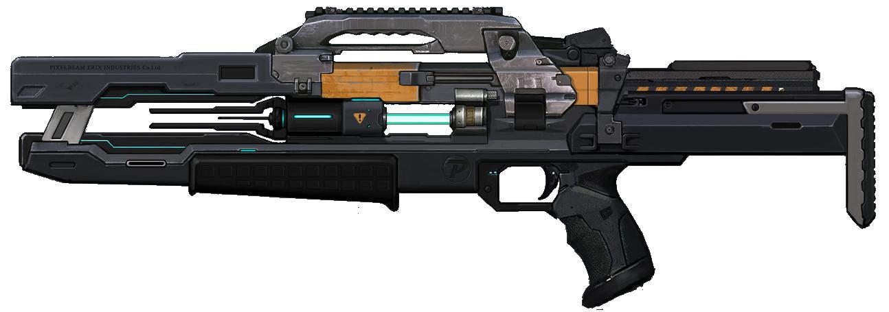PNG Laser Gun - 46781