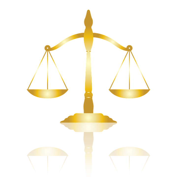 justice gold scale law legal