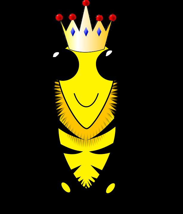 Ratu Lebah, Lebah, Sarang Lebah, Lilin Lebah, Sarang - PNG Lebah
