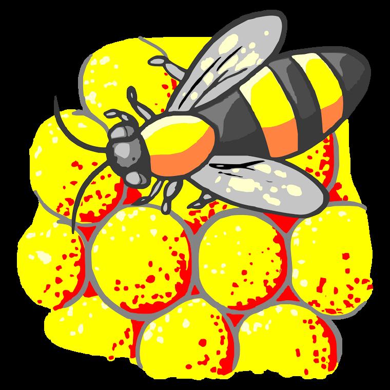 PNG Lebah - 44401