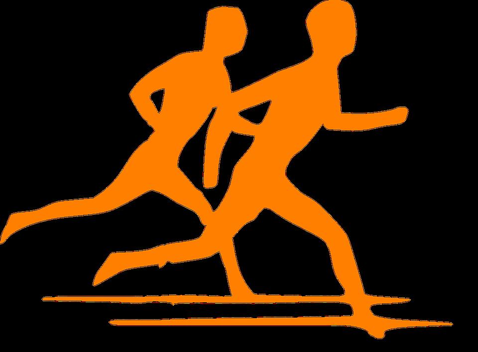 Läufer, Strecke, Leichtathletik, Athleten - PNG Leichtathletik