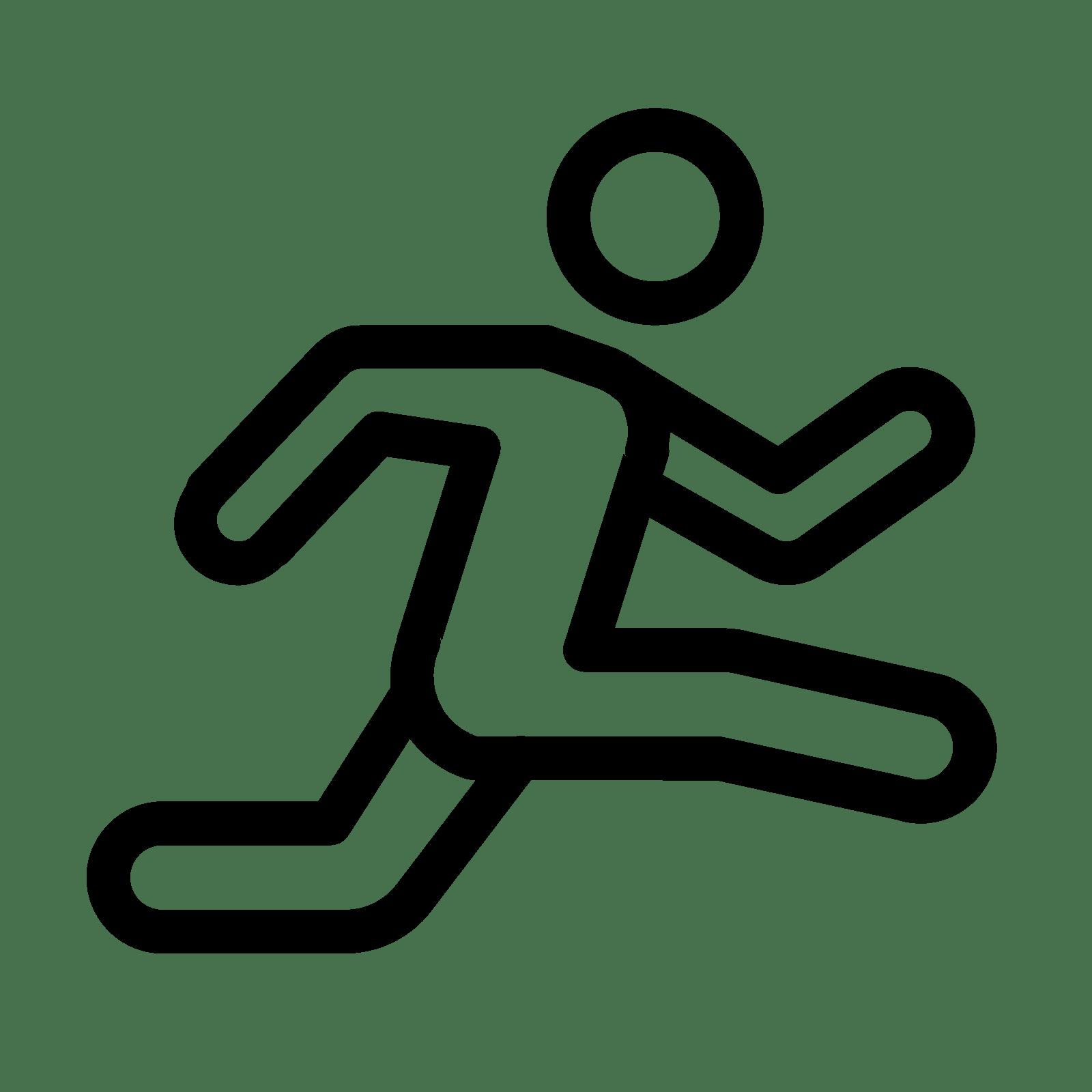 Leichtathletik Icon. PNG 50 px - PNG Leichtathletik