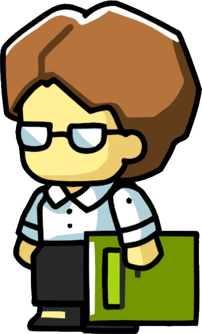 Image - Librarian Female.png   Scribblenauts Wiki   FANDOM Powered By Wikia - PNG Librarian