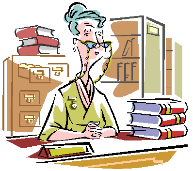Library Building Clipart Librarian Clip #art2 - PNG Librarian