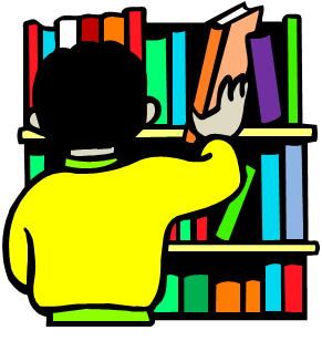 Library Building Clipart #shelve - PNG Librarian