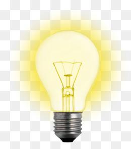 Glowing light bulb. PNG - PNG Light Bulb
