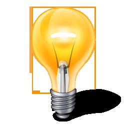 Yellow Light Bulb PNG Image image #834 - PNG Light Bulb