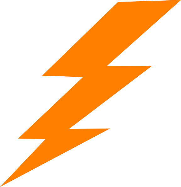 Harry Potter Lightning Bolt Outline - PNG Lighting Bolt