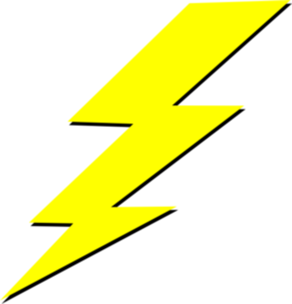 PNG Lighting Bolt