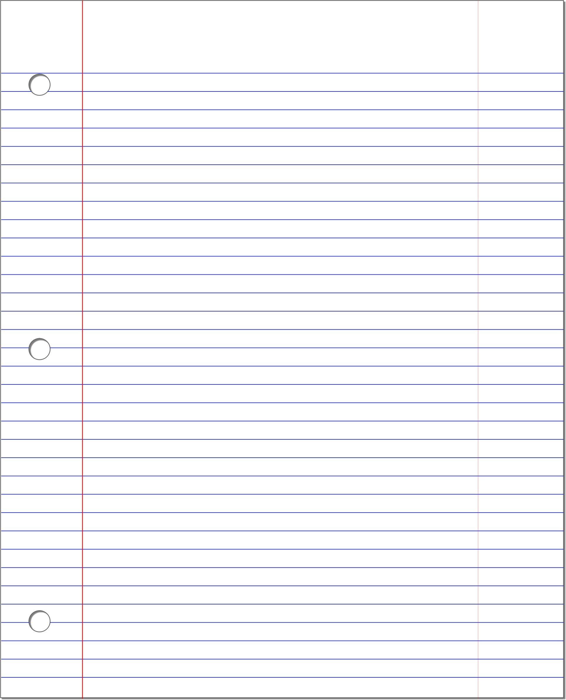 PNG Lined Paper - 88782