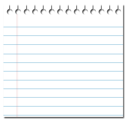 PNG Lined Paper - 88784