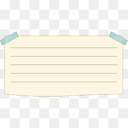 PNG Lined Paper - 88780