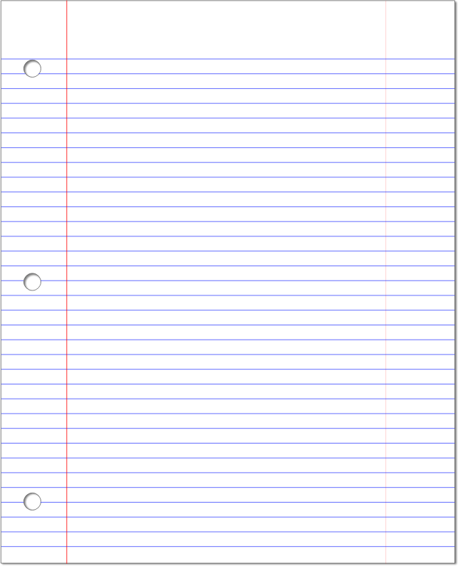 PNG - PNG Lined Paper
