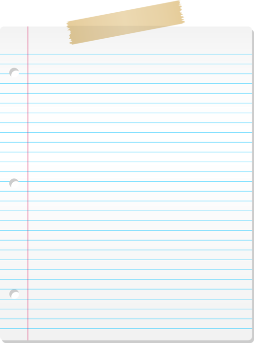 PNG Lined Paper - 88785