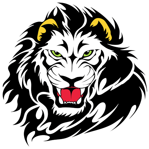 Lions Head Tattoos- High Quality Photos and Flash Designs of Lions Head  Tattoos - PNG Lion Head Roaring