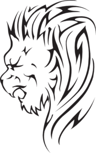 PNG Lion Head Roaring - 61527